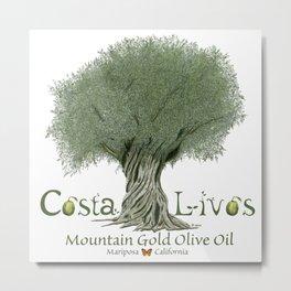 CostaLivos  Metal Print