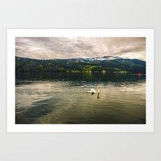 Der See Art Print