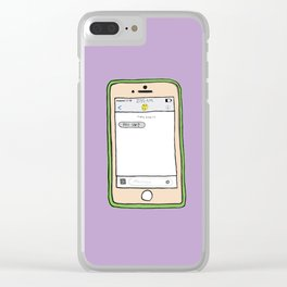 love galore Clear iPhone Case