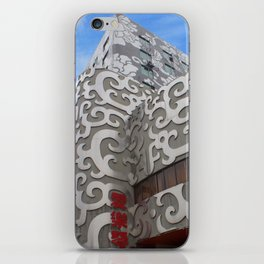 Silver Building in Xi'an iPhone Skin