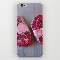 meat iPhone & iPod Skins featuring Meat Meat Meat (4) by The Avant-Garden