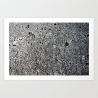 concrete Art Prints featuring concrete by Seed Margarita