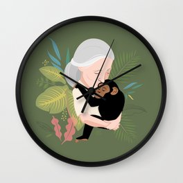 Nature love Wall Clock