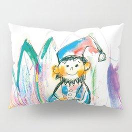 Dwarf in a flower Pillow Sham