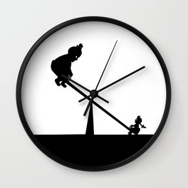 The Stronger Will Wall Clock