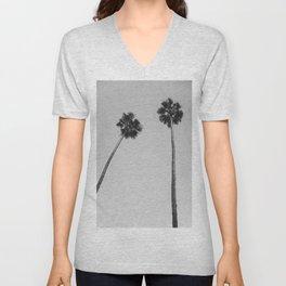 Palms Noir Unisex V-Neck