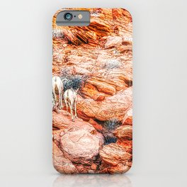 Desert Sheep in Valley of Fire iPhone Case