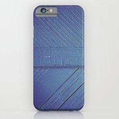 Blue Wood Slim Case iPhone 6s