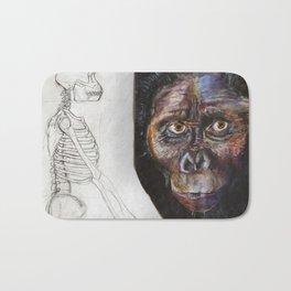 Australopithecus Bath Mat