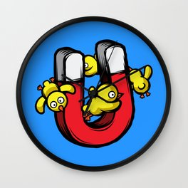 Chick Magnet Wall Clock
