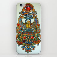 egypt iPhone & iPod Skins featuring Egypt - painting by oxana zaika