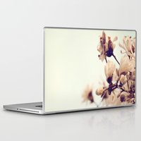 magnolia Laptop & iPad Skins featuring Magnolia by Dena Brender Photography
