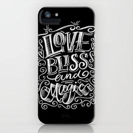 love, Bliss & Magic iPhone Case