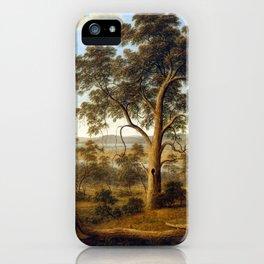 John Glover Launceston and the River Tamar iPhone Case