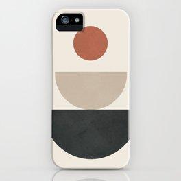 Geometric Modern Art 30 iPhone Case