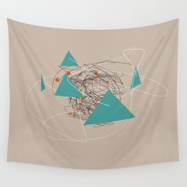 squiggles 4 Wall Tapestry