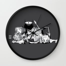 Picture of the Rings Wall Clock