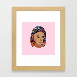 Katy Framed Art Print