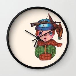 COMMON PHEASANT Wall Clock