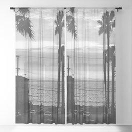 Classic Redondo Beach Sheer Curtain