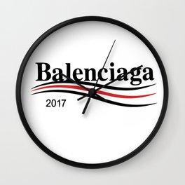 Balenciaga 2017 Wall Clock