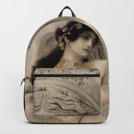 ALLEGORY OF SCULPTURE - GUSTAV KLIMT Backpack