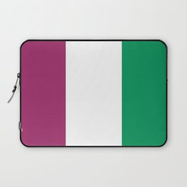 Flag of the suffragettes Laptop Sleeve