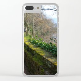 Road By The River Dee Clear iPhone Case