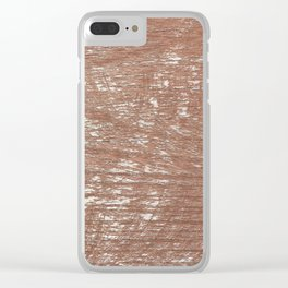 Wood Texture Surface 40 Clear iPhone Case