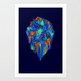 Melt into the Night Art Print
