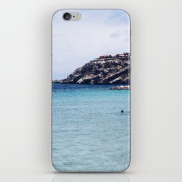 the blue bay iPhone Skin