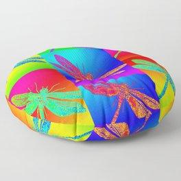 Flying colour Floor Pillow