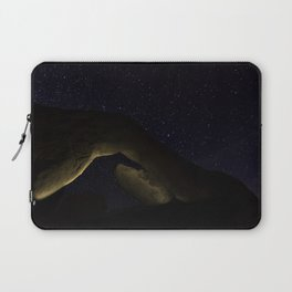 Arch Rock Under the Stars Laptop Sleeve