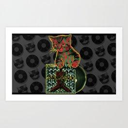Tribe Cat Art Print