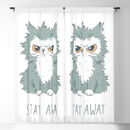 Stay Away Blackout Curtain