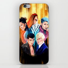 Fantastic Five iPhone Skin
