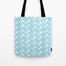 Polar Bears Inuka & Sheeba I Tote Bag