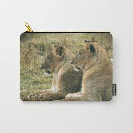 Lion Cub Twins Carry-All Pouch