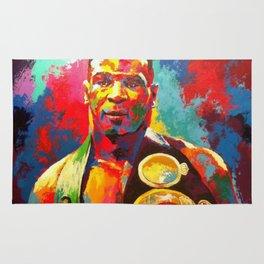 Mike Tyson- Heavyweight Champ Rug