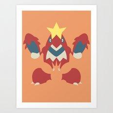 Pocket Monster 341 and 342 Art Print
