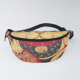 The Gold Cat Fanny Pack