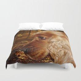 Dog Cocker Spaniel Duvet Cover