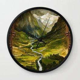 Hidden Valley Wall Clock