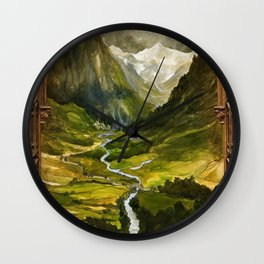 Hidden Valley Wall Clock