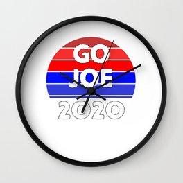 Go Joe Biden 2020 Anti Trump, Joe Biden, Kamala Harris, Women Empowerment T-Shirts Wall Clock
