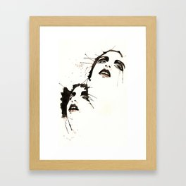 Teethcut Framed Art Print