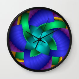 for curtains and more -b- Wall Clock