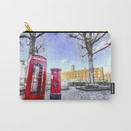 St Katherines Dock London Art Carry-All Pouch