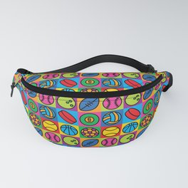 Sport Ball Pop Art Fanny Pack