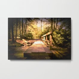 Walk With Care Metal Print